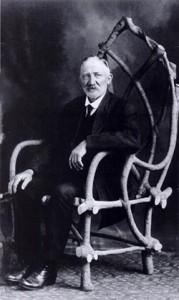 John Krubsack in chair